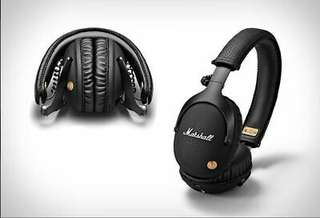 Marshall MONITOR Bluetooth Over Ear Headphone Black