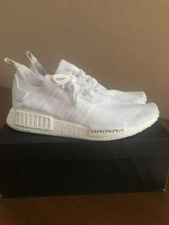 NMD R1 pk Triple White Japan size 44
