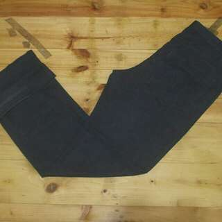 giordano chino charcoal longpants original