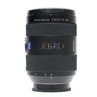 Sony SAL 24-70mm F2.8 SSM ZA Lens (A-Mount)