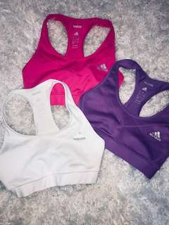 Adidas Sports Bra Trio *WHITE SOLD*