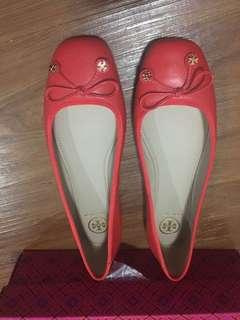 Tory burch flat shoes size 8