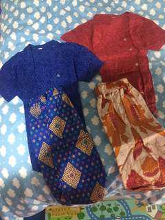 batik set baby buy 1 get 1