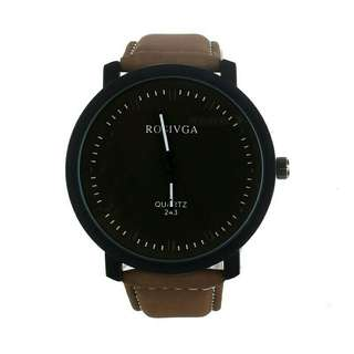 Matte Brown Watch
