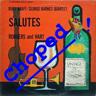 rodgers and hart Vinyl LP used, 12-inch, may or may not have fine scratches, but playable. NO REFUND. Collect Bedok or The ADELPHI.