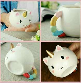 Unicorn ceramic mug