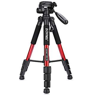 ZOMEI Q111 56 INCH LIGHTWEIGHT PROFESSIONAL CAMERA VIDEO (RED) 10.50 x 10.50 x 50.50 cm
