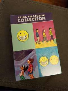 Raina Telgemeier Collection - Smile, Drama, Ghosts, Sisters