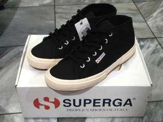 Superga Cotu Mid - Black