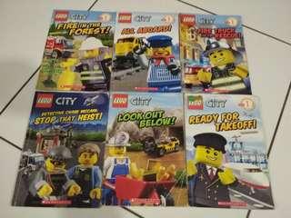Lego City | Level 1| Readers | Books | Preschool | Scholastic