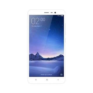 Kredit Xiaomi Redminote 3 Pro 3/32 Silver Garansi Distributor