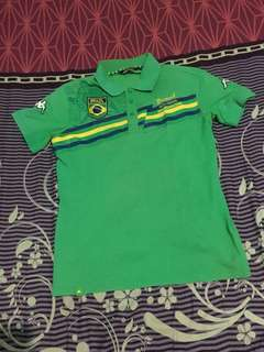 Polo Shirt KAPPA WORLD CUP 2014 RARE Size M