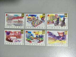 Singapore Stamps NDP 2016