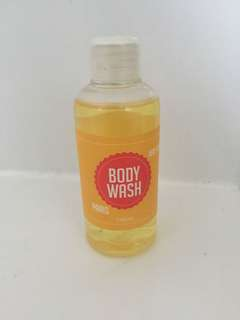 Small gift or travel body wash