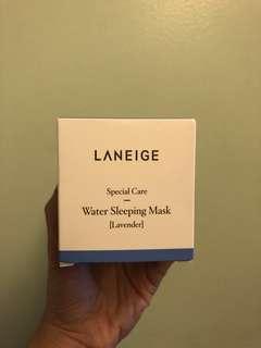 SALE Laneige Water Sleeping Mask (Lavander)