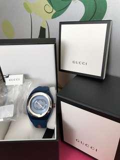 Gucci Watch全新Gucci 膠帶型錶