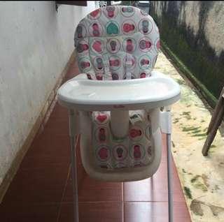 Chocolatte high chair