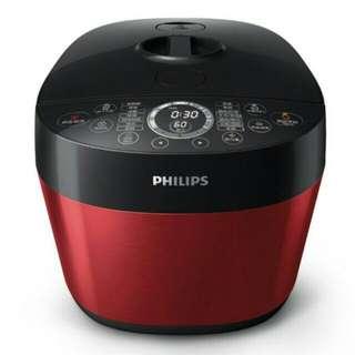 全新【飛利浦 PHILIPS】雙重溫控智慧萬用鍋(HD2143)