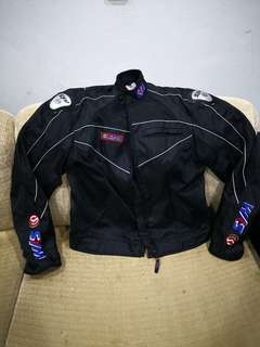 Jaket motor Sym ori riding jacket. Size XL