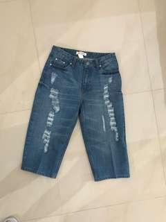 Celana jeans 7/8 size 27