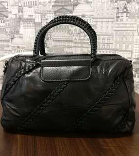 Sheep Skin Leather Handbag