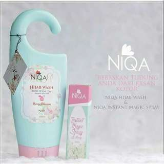 (INSTOCK AVAIL!) (SPECIAL COMBO PRICE!) Authentic Niqa Instant Magic Spray Hijab Wash For All Muslimah Needs PO