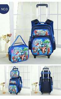 2in1 8D STOLLER FOR BOY & GIRL CARTOON CHARACTER