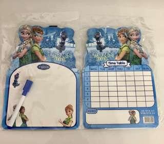Frozen theme whiteboard set- children party goodies bag, event door gift