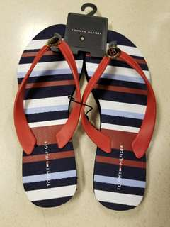 New Tommy Hilfiger Thin Rubber Flip Flop