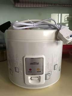 Mistral Rice Cooker (1.8L)