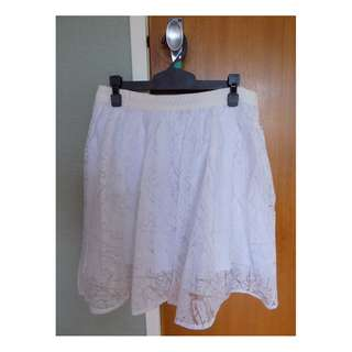 Stolen Girlfriends Club White Taffeta Skirt