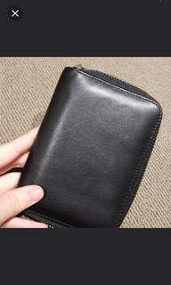 Genuine leather wallet NAKEDVICE