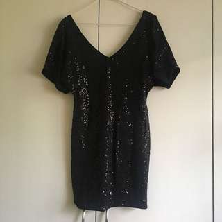 People are PeopleBlack Sequined Dress