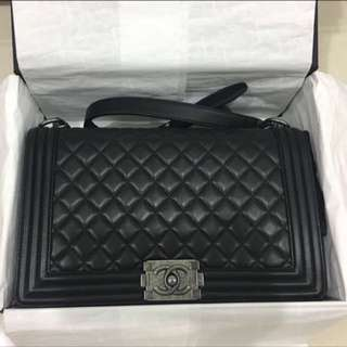 Authentic Chanel Boy New Medium