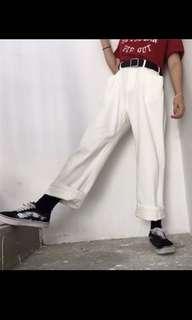 🚚 白色長褲