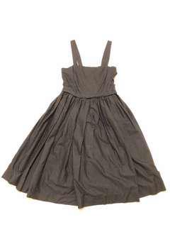stile benetton Black dress 黑色 吊帶 傘裙 | 吊帶裙