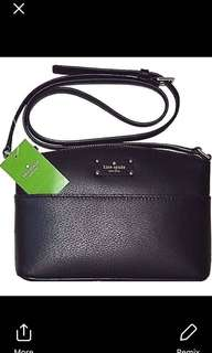 BNWT Authentic Kate Spade Stacy Wallet Leather  Height 3.