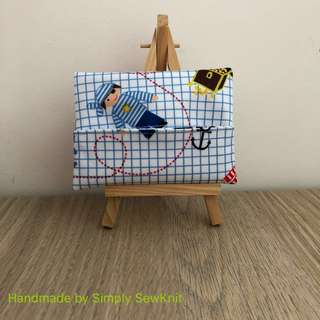 *Restock* Pirate theme Water Proof Tissue Pouch