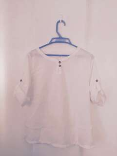 White simple shirt for girls