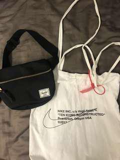Off white or Herschel bag