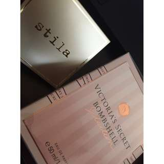 Brand new Bundle* Stila highligter and VS bombshell perfume
