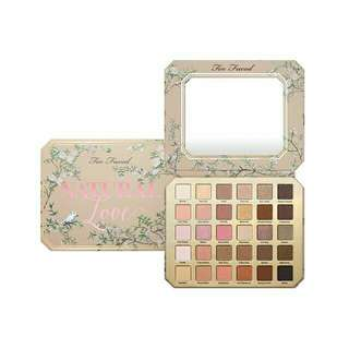 Too Faced Natural Love Eyeshadow Pallete