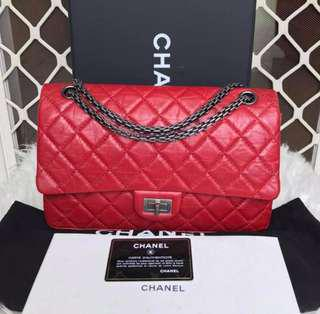 Authentic Chanel Reissue 226 (Red RHW)