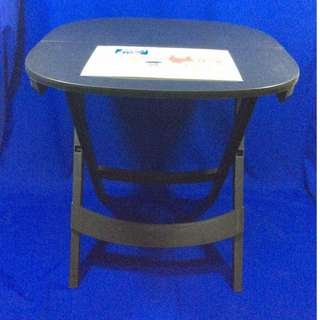 EVERGOOD MEZA KING FOLDING TABLE ROUND