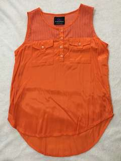 Pre-loved Plains and Prints Sleeveless Blouse