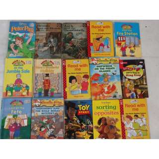 15 Children kids books Ladybird Read with Me Geronimo Stilton Disney Peter Pan