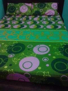 3pcs.Bed sheet set