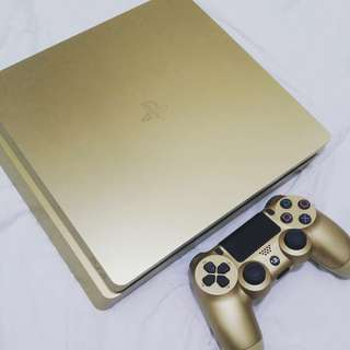 PS4 Slim Gold Special Edition 500GB