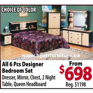 brand new Bedroom set only $698