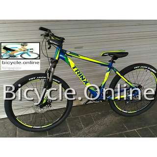 "26"" Aluminium TRINX MTB / Mountain Bike ✩ SHIMANO 21 Speeds, Front suspension, Disc brakes ✩ Brand New Bicycle"